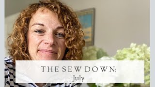 The Sew Down July || The Fold Line Vlog