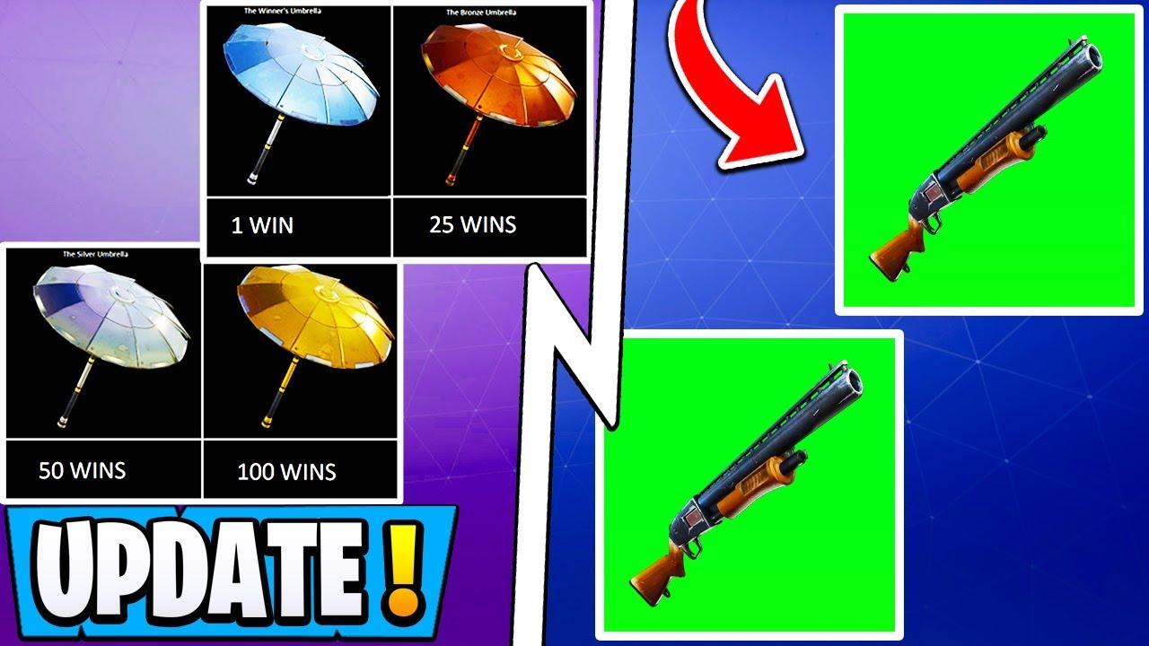 *NEW* Fortnite Update!   Pump Shotgun Return, Free Arena Rewards, Double Pump!