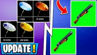 *NEW* Fortnite Update! | Pump Shotgun Return, Free Arena Rewards, Double Pump!
