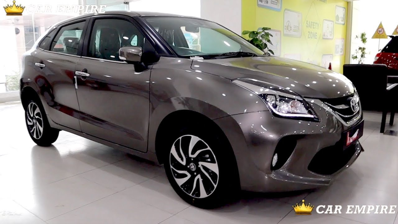 Toyota Glanza Grey Colour Interior Features Review Price Glanza V