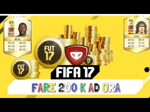 GLITCH/TRUCCO COME FARE CREDITI SU FIFA 17 ULTIMATE TEAM, 200 K AD ORA!