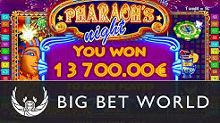 Pharaoh's Night - Online video slot by Octavian Gaming - Play it at Big Bet World Casino