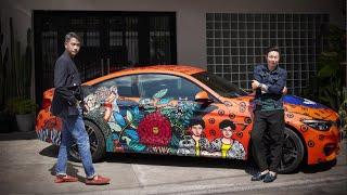 1 ใน 9 ศิลปินของโปรเจกต์พิเศษ BMW Unbound World of Art Series โดย TUBE GALLERY และ Ploy Kasom