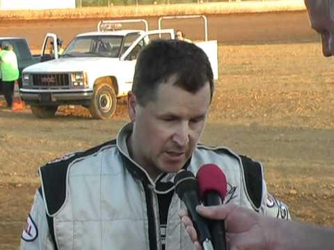 Trail-Way Speedway 358 Sprint Car Victory Lane 6-03-11