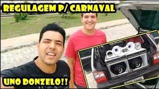 Regulando Som do Uno para O Carnaval - Tornados 1100 Caixa DG 1504 (( Rodrigo ))