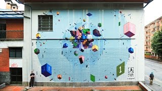 Best Street Art STREETALPS Festival Piemonte #3 ETNIK