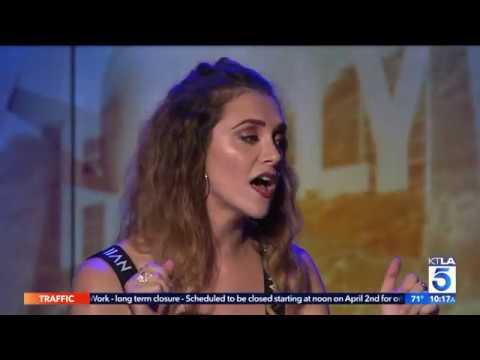 Alyson Stoner Performs Live on KTLA