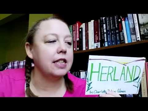 Herland by Charlotte Perkins Gilman (Book Review) SciFi Fantasy and Weird Fiction ~ Vlog #162