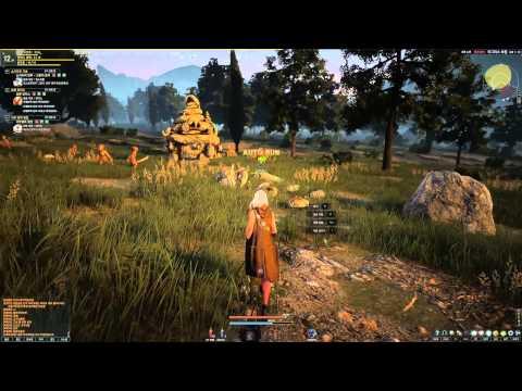 Black Desert Online Sorcerer Questing at Dawn 2nd Beta HD