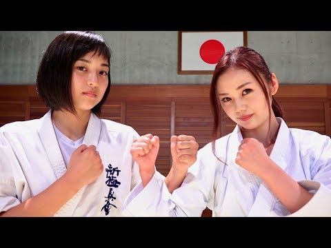 高速パンチ女子高生 と 伝統空手ナース High Speed Punch Girl and Karate Nurse