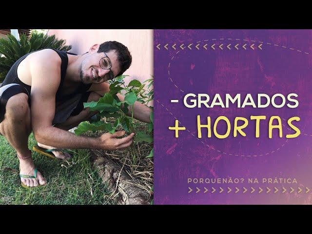 COMO COMEÇAR UMA HORTA COM RECURSOS LOCAIS // PorQueNão?