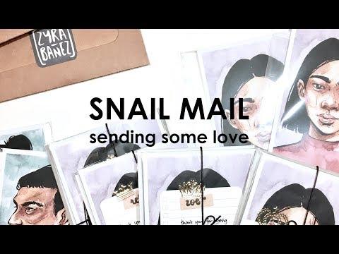 Snail Mail Process | Sending Some Love