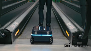 Travelmate | Self-Moving Suitcase Follows You Wherever You Go