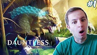 ОХОТА НА ДИКИХ МОНСТРОВ - Dauntless #1