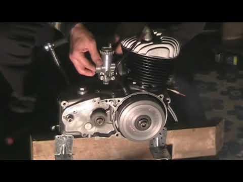 Sachs 125 motor, 1960 model