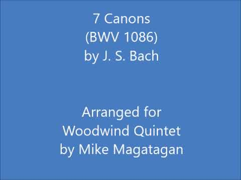 14 Canons (BWV 1087) for Wind Quintet