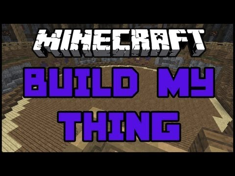 Joker Plays Minecraft Mini Games - Build It/Build My Thing -