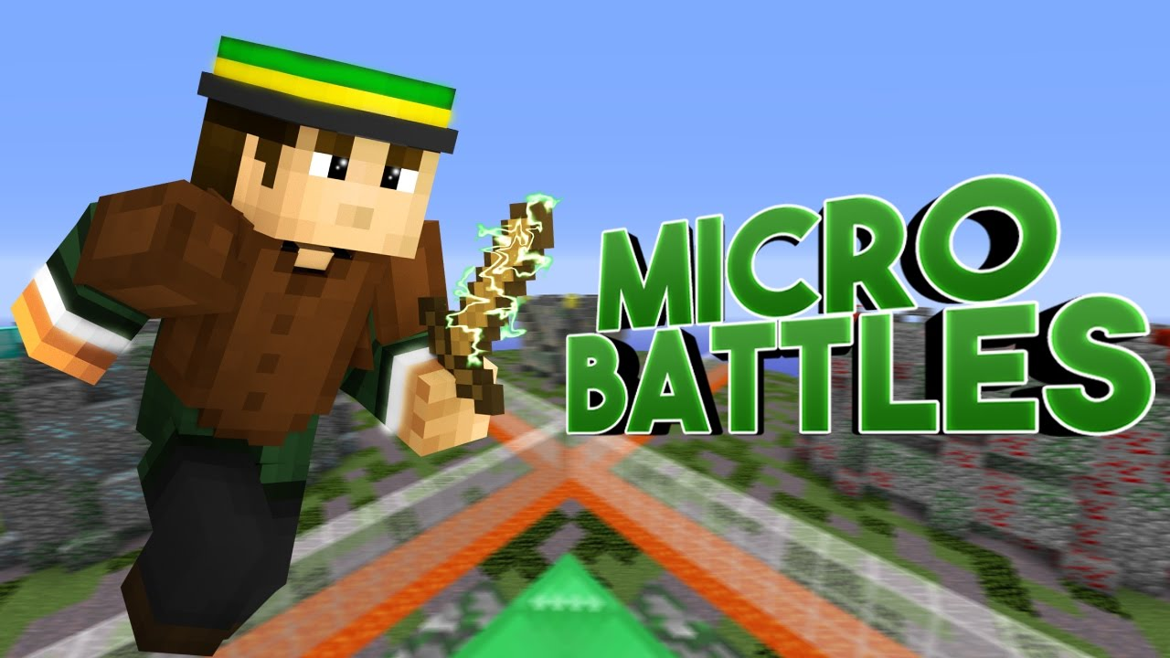 Minecraft Micro Battles Ep 1:SERVERS KEEP GOING DOWN YouTube
