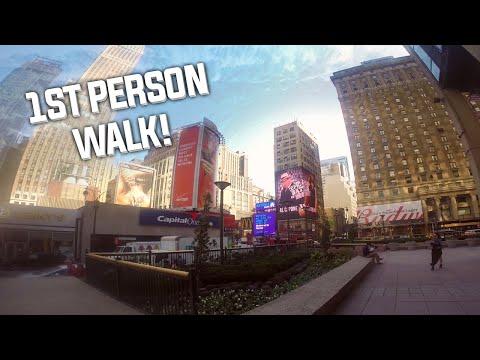 1st person walk to Madison Square Garden @ ESL New York 2014