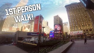1st person walk to Madison Square Garden @ ESL New York 2014