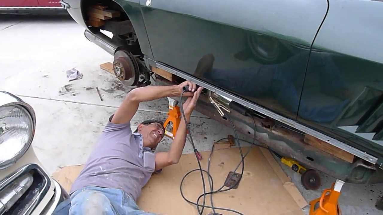 67 Corvette Restoration A No Side Exhaust Corvette Back