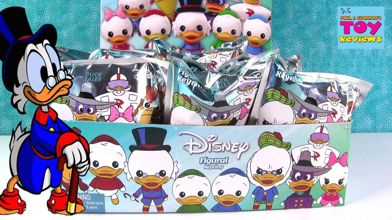 Disney Duck Tales Ducktales Figural Keyrings Blind Bag