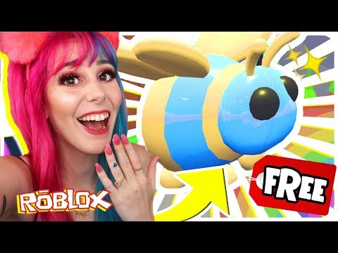 How To Get A FREE QUEEN BEE In Adopt Me.. Roblox Adopt Me NEW Bee Update