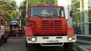 Сгорел автосервис Renault в городе Ярославль