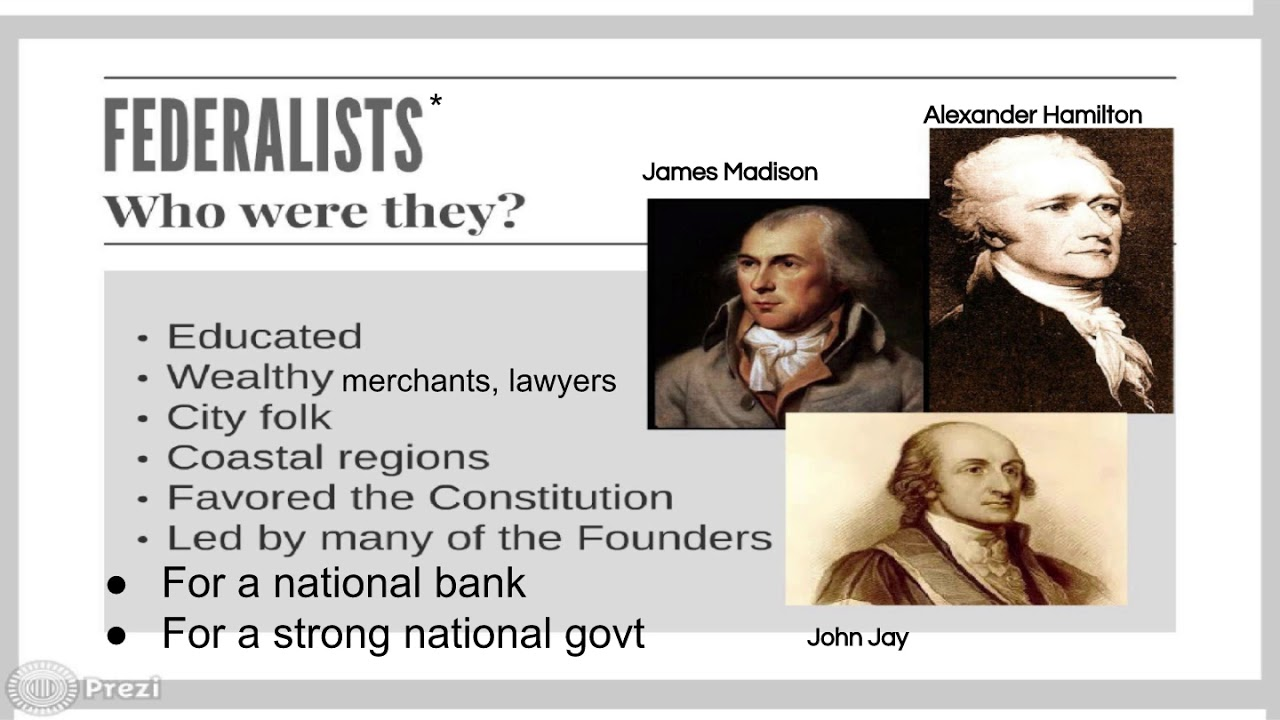 federalist v anti federalist Step 1 the first thing to decide is who will be a federalist (strong central government) and who will be an anti-federalist (strong state government).