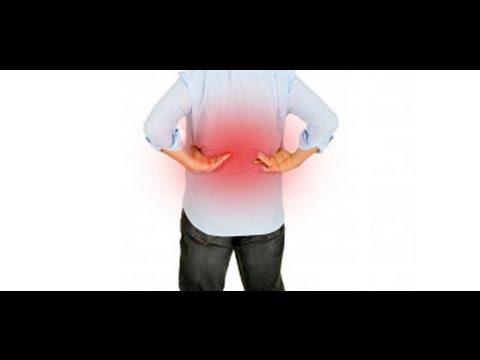 Espalda de ardiente dolor en el centro mi