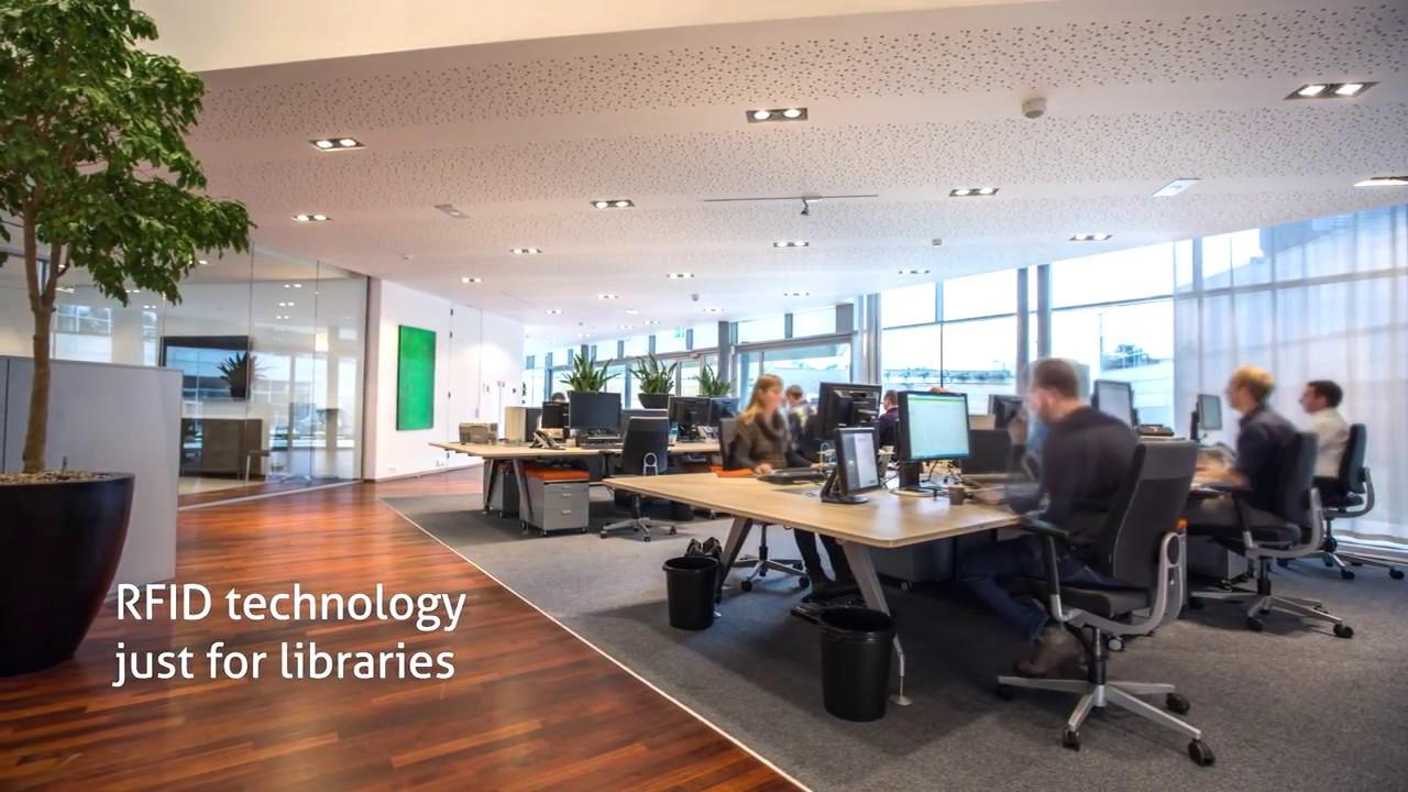 RFID自動化圖書館自動化系統-金采科技 02-2557-7028 - YouTube