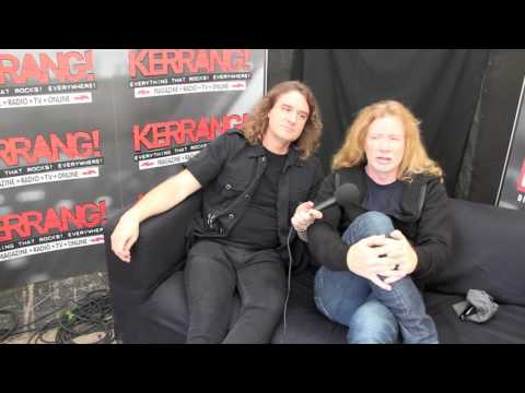 Kerrang! Download Podcast 2016: Megadeth