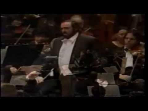 MARIO LANZA and PAVAROTTI TOGETHER  SINGS Lamento