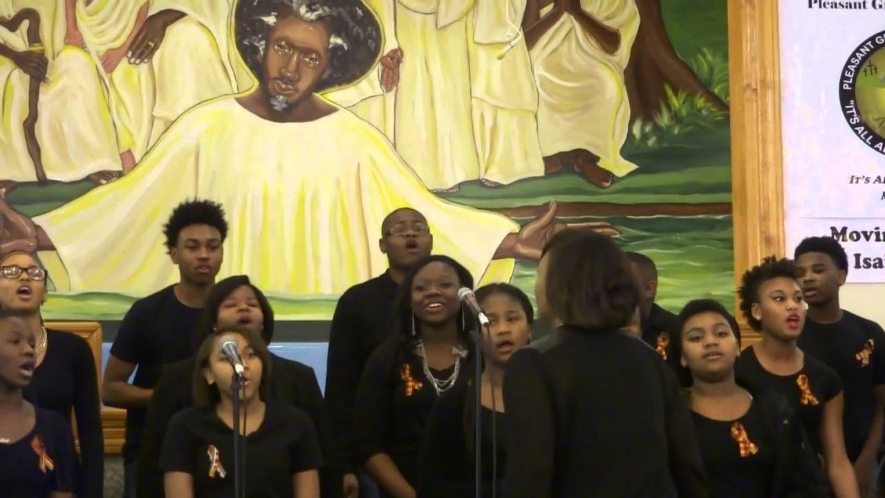 Anointed Voices Youth & Young Adult Choir: Ride On King ...