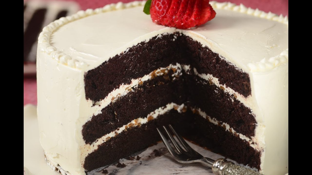 Joy Of Baking Chocolate Cake With Swiss Buttercream