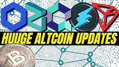 HUGE CRYPTOCURRENCY NEWS | Electroneum, Quant Network, Zilliqa, Chainlink, Tron