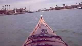 Charlie Paddling The Cirrus Kayak Pt.1