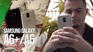 Samsung Galaxy A6+ y A6, primeras impresiones: la nueva gama media que quiere ser premium