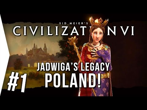 Civilization VI ► Playing Poland P1 - Jadwiga's Legacy Scenario! [Civ 6 Gameplay]