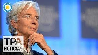 Lagarde se refirió a las conversaciones con Argentina  | #TPANoticias