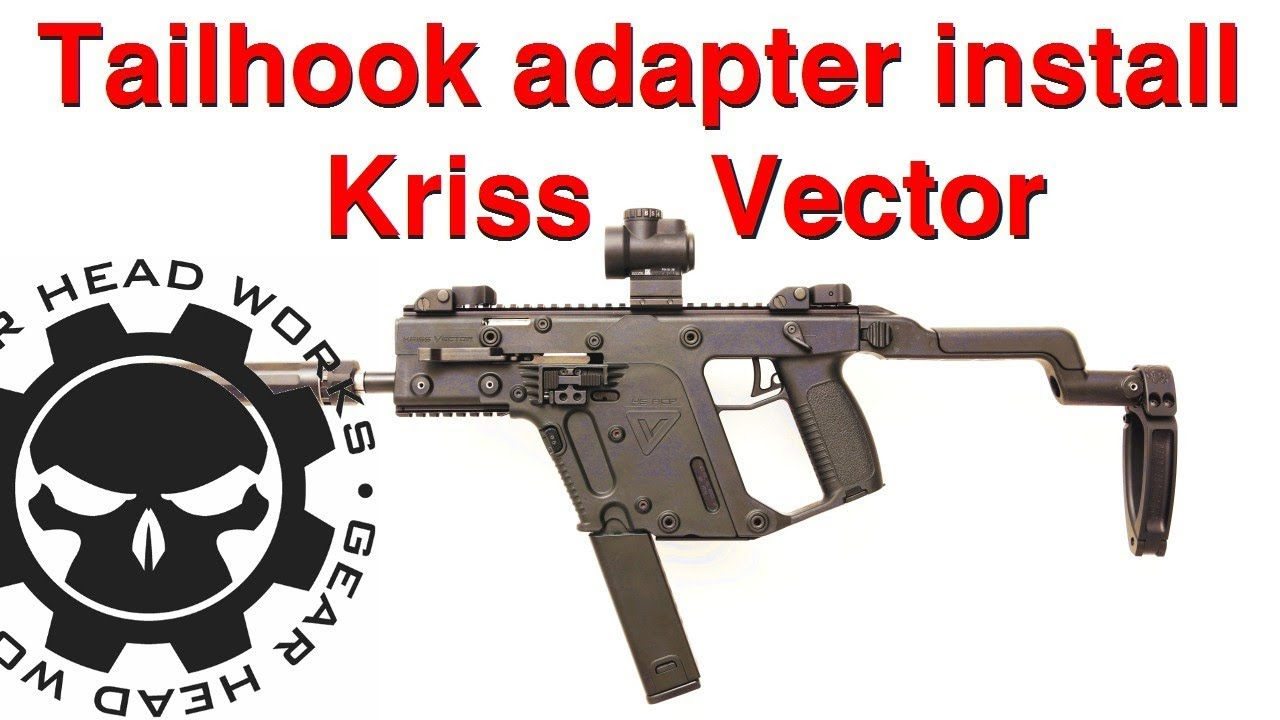 Kriss Vector Tailhook mounting kit