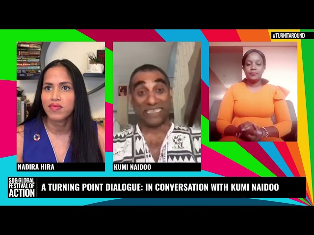 A Turning Point Dialogue: In Conversation with Kumi Naidoo (French)