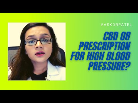 Does CBD Help With High Blood Pressure?