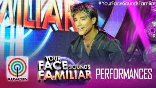"Your Face Sounds Familiar: Edgar Allan Guzman as Ricky Martin - ""She Bangs"""