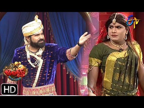 Chalaki Chanti&Sunami Sudhakar Performance | Jabardasth | 11th July 2019 | ETV Telugu