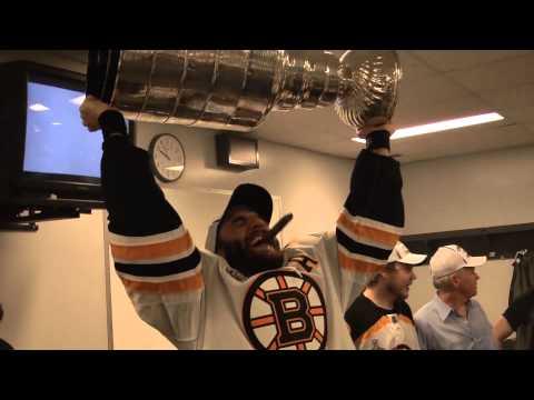 Boston Bruins celebrate 2011 Stanley Cup Championship