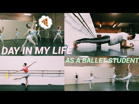 A DAY IN MY LIFE // BALLET CONSERVATORY VLOG💪🏼💥✨