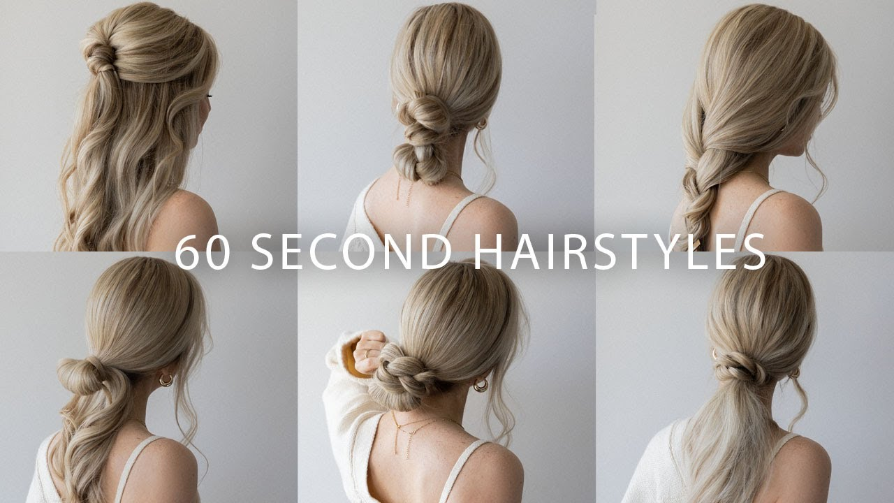 12 QUICK & EASY HAIRSTYLES  Cute Long Hair Hairstyles