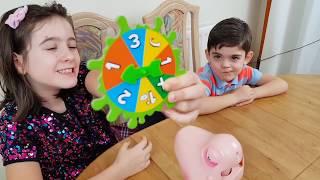 Playing Snotcha Challenge Funny Game For Kids