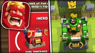 How to change the color of the TOWER of the KING in the CLASH ROYALE [I CHANGED my]